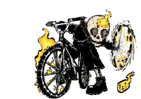 Kid Ghost Rider by P3M