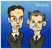 Ant and Dec by pickledjo