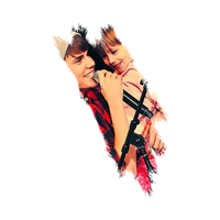 Justin and Jazzy PNG by chicastecnologicas21