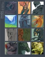 Summary of art 2013 by SHADE-ShyPervert
