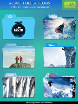 Movie folder icons NO.38 _Outdoor Life series by dyinginthesun
