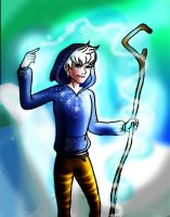 Jack Frost - magic ice by chillydragon