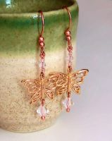 Copper Butterfly Kisses by sancha310sp