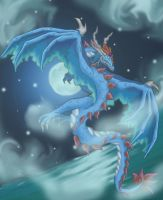 sea mist dragon by Ashley8977