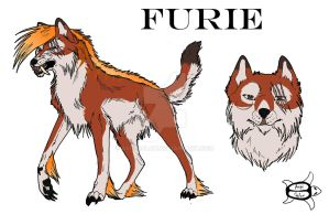 Furie - Character Sheet by Aspi-Galou