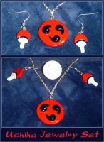 Naruto - Uchiha Jewelry Set by YellerCrakka