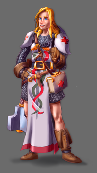 Cleric Concept by fdiskart