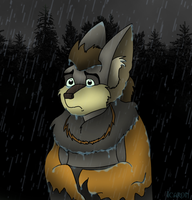 OLD ART: In the Rain by Icaron