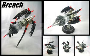 Bionicle MOC BDR-Breach by 3rdeye88