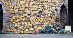 Lobster Pots and Wall by svendo