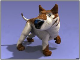 3D course - the Dog 04 by RobertFriis