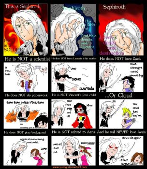 Sephiroth Is.... by Yusagi