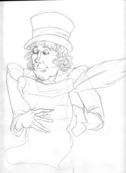 Uncle Sam Sketch by PoorlyDrawn