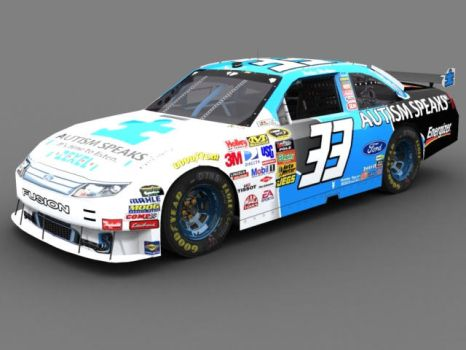 Autism Speaks Fusion COT by Lowes4804