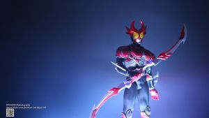 SHF Kamen Rider Agito Burning Form by Digger318