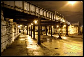 Bridge underpass... HDR by delobbo