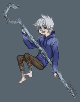 Jack Frost Chibi by Spriinkles
