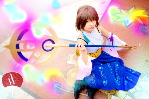 Summoner Yuna (Final Fantasy X) by AndyWana