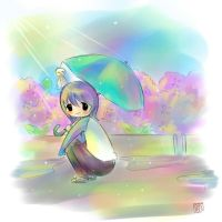 After the rain by 3-Keiko-chan-3