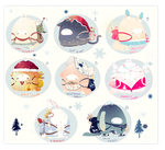 [CLOSED] ADOPT AUCTION 131- BeiBao SPECIAL Holiday by Piffi-adoptables