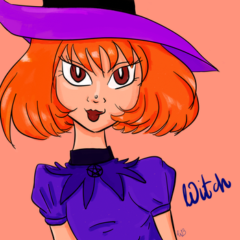 Witch by Integra4Hell