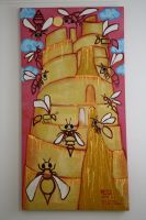 Bee Colony Collapse Babel 2008 by beatrixxx