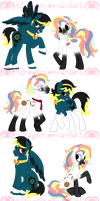 MLP: Padclock Ponys by KPenDragon