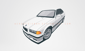 COMMISSION: BMW M3 / E36 by AeroDesign94