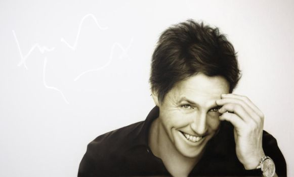 Hugh Grant by Graphxstudio