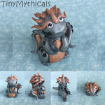 Valuable Dragon - Polymer Clay by TinyMythicals