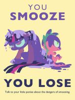 SMOOZE PSA by ponywise