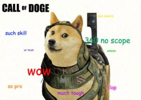 Call of doge by QueenGrim