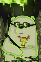 Icebear in postapocalyptic world. by Torivic