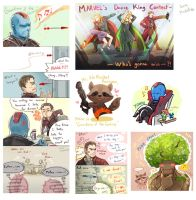 Guardians of the Galaxy (*** spoiler alert) by Mushstone