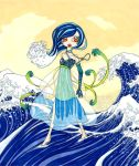 Empress of the waves by YumeDono