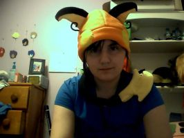 Pokemon fleece hat RAICHU by Mizu-Neko29