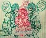 Fliqpy x Flaky x Flippy (Humanized/Animefied) by Cielfangirl