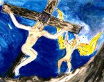 Crucifixtion by mertonparrish