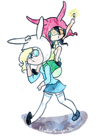 Day 3: Louise and Fionna by LenkaSugar