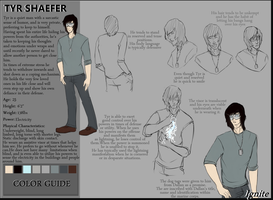 Tyr Shaefer- Character Sheet by Aellos