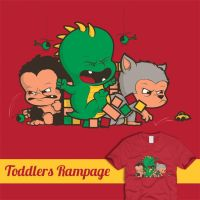 Toddlers Rampage by Ian-Summers