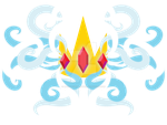 ice crown emblem by martythemartini