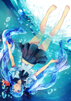 Submerged by hirappon