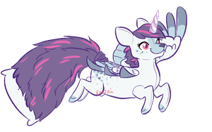 Pretty Purple Pony by Krizpie