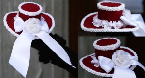 IF: Valentina Mini Hat by A-Little-White-Lie
