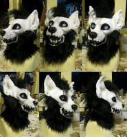 Witch the striped hyena head! by Crystumes