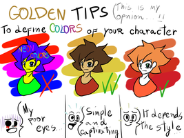 Colors Tips (Master Tip: DON'T USE NEON COLORS!!!) by Konamon