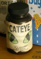 Mini Cateye Bottle by emptysamurai