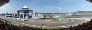 Istanbul Park F1 Grandstand by tmr5555