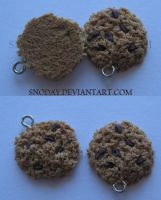 Oatmeal Raisin Cookies by snoday